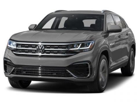 New 2020 Volkswagen Atlas Cross Sport V6 SE with Technology FWD Small Sport Utility Vehicles 2WD