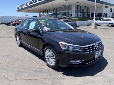 Certified Pre-Owned 2017 Volkswagen Passat 1.8T SE FWD Mid-Size Cars