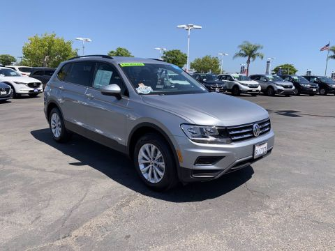 Certified Pre-Owned 2019 Volkswagen Tiguan S FWD Small Sport Utility Vehicles 2WD