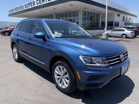 Certified Pre-Owned 2018 Volkswagen Tiguan SE FWD Small Sport Utility Vehicles 2WD