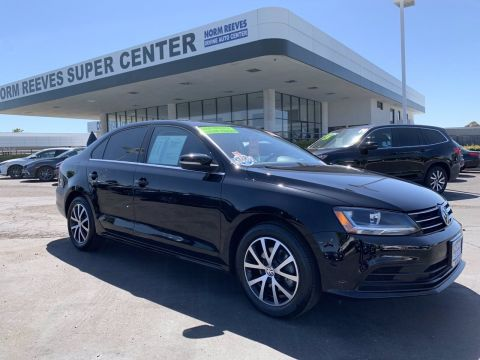 Certified Pre-Owned 2017 Volkswagen Jetta 1.4T SE FWD Compact Cars