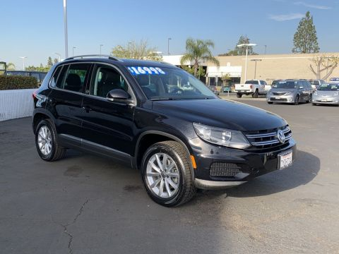Certified Pre-Owned 2017 Volkswagen Tiguan Wolfsburg Edition FWD Small Sport Utility Vehicles 2WD